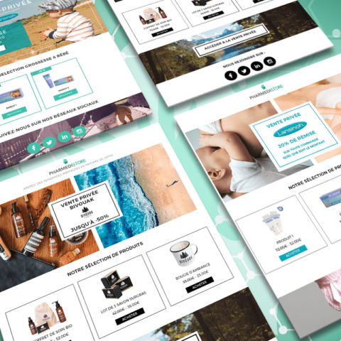 Projet pharmedistore emailing kit 480x480 - Projets